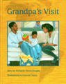 Grandpa's Visit Cover Illustration - Pencil Crayon on Gesso
